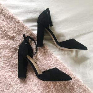 ASOS Shoes - BNIB ASOS Pointed-Toe Chunky Heels w/ Ankle Strap